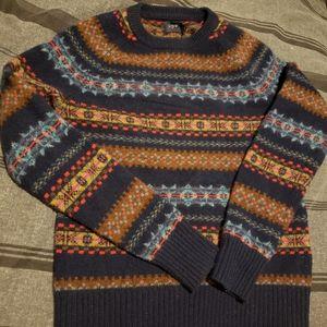 J Crew Fair Isle Sweater XS